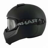 CASCO SHARK VANCORE NEGRO MATE
