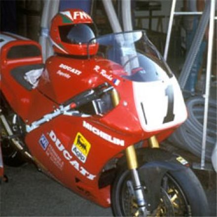 DUCATI 888 1991 - 1995 CÚPULA SOBRE ELEVADA HP