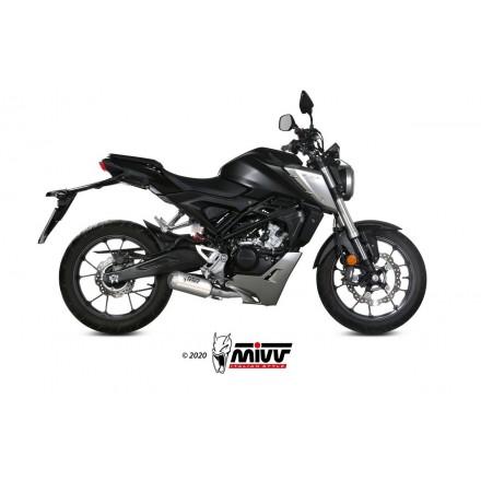 HONDA CB 125 R 2018 - MK3 INOX/ST. STEEL MIVV