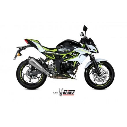 KAWASAKI Z 125 2019 - DELTA RACE INOX COPA CARBONO MIVV
