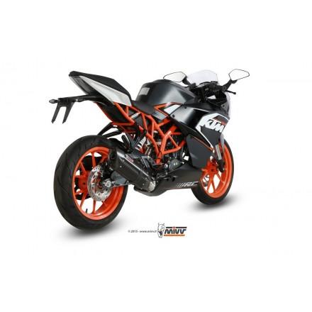 KTM RC 125 2014 - 2016 SUONO BLACK MIVV