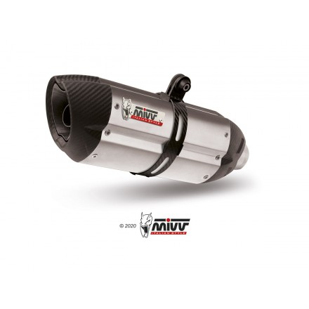 KTM RC 125 2017 - SUONO INOX COPA CARBONO MIVV