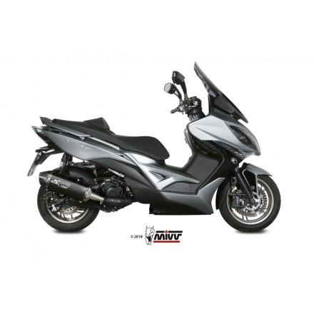 KYMCO XCITING 400I 2013 - 2018 SPEED EDGE BLACK MIVV
