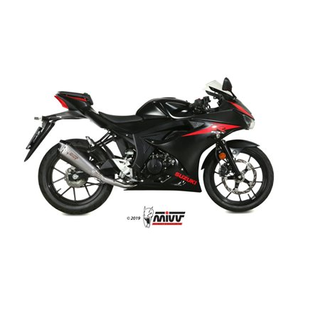 SUZUKI GSX-R 125 2017 - DELTA RACE INOX COPA CARBONO MIVV