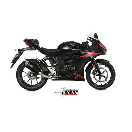 SUZUKI GSX-R 125 2017 - DELTA RACE BLACK MIVV