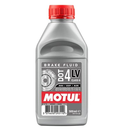 Líquido Frenos Motul LV Racing DOT 4 500 Ml