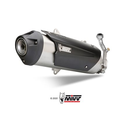 KYMCO PEOPLE S 125 2008 - 2009 - INOX IMP. COMPL./FULL SYS. 1X1