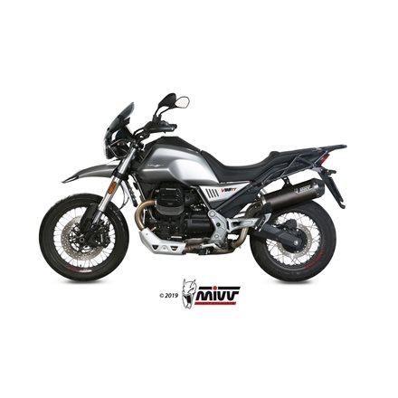 MOTO GUZZI V85 TT 2019 - OVAL CARBONO COPA CARBONO MIVV