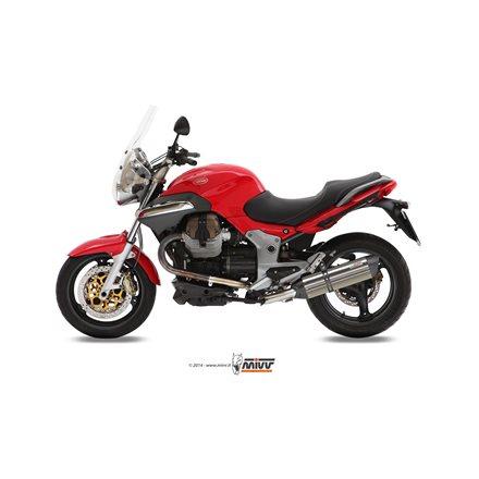 MOTO GUZZI BREVA 1100 2005 - 2011 SUONO INOX COPA CARBONO MIVV