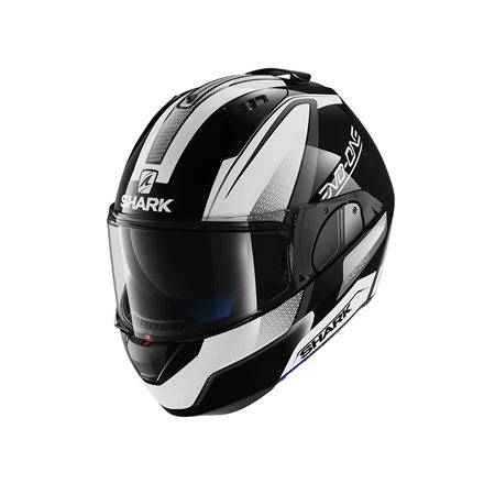 SHARK EVO ONE ASTOR NEGRO BLANCO ANTRACITA