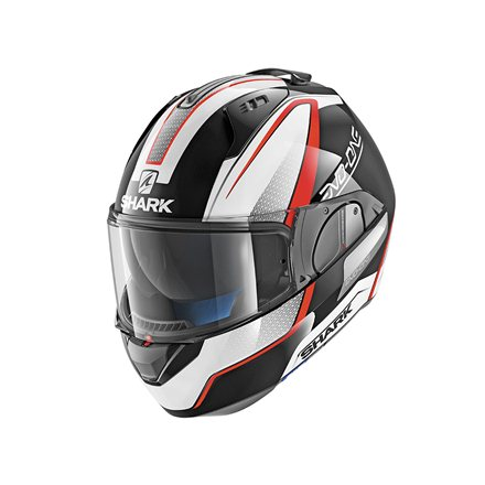 SHARK EVO ONE ASTOR NEGRO BLANCO ROJO