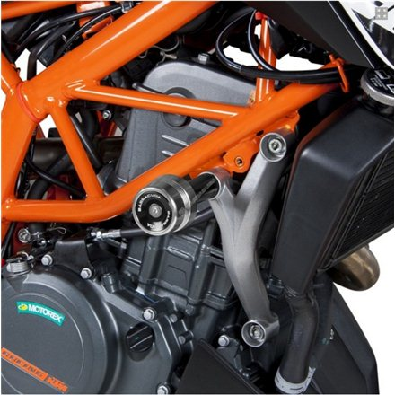 KTM DUKE 390 TOPES ANTICAIDA BARRACUDA