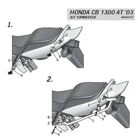 TOP MASTER HONDA CB 1300 F/S 2003-2009