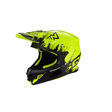 SCORPION EXO-21 AIR MUDIRT NEGRO AMARILLO FLUO