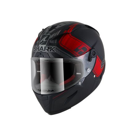 RACE-R PRO ZARCO MAT GP FRANCE Black Anthracite Red