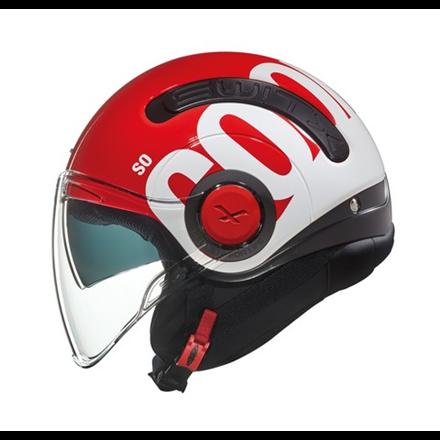 CASCO NEXX SX.10 COOL JAM RED/WHITE
