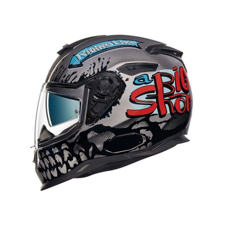 CASCO NEXX SX.100 BIG SHOT DARK GREY