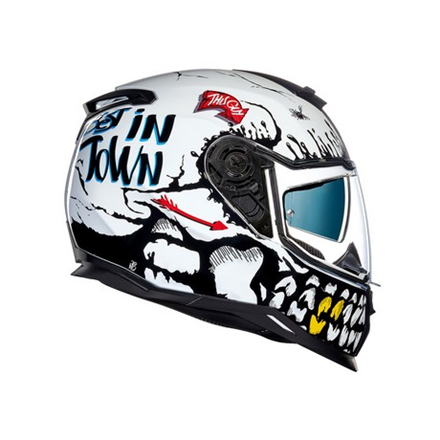 CASCO NEXX SX.100 BIG SHOT WHITE