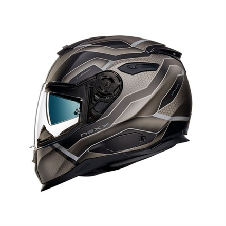 CASCO NEXX SX.100 I.FLUX BLACK MT