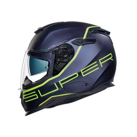 CASCO NEXX SX.100 SUPERSPEED BLUE/NEON MT