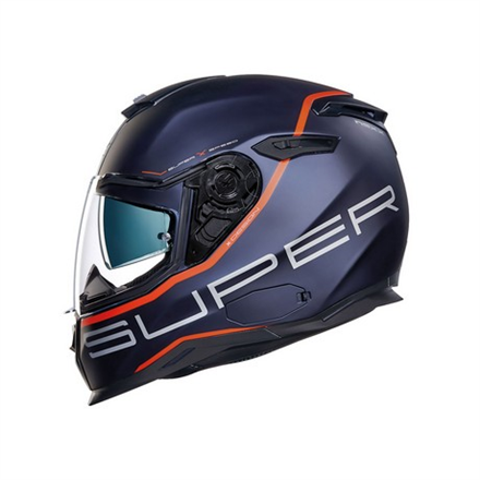 CASCO NEXX SX.100 SUPERSPEED BLUE/RED MT