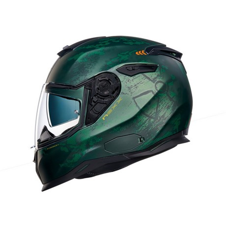 CASCO NEXX SX.100 TOXIC GREEN MT