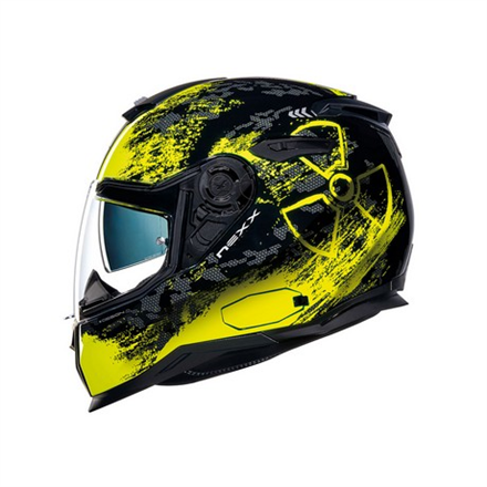 CASCO NEXX SX.100 TOXIC NEON YELLOW