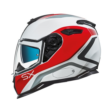 CASCO NEXX SX.100 POPUP RED