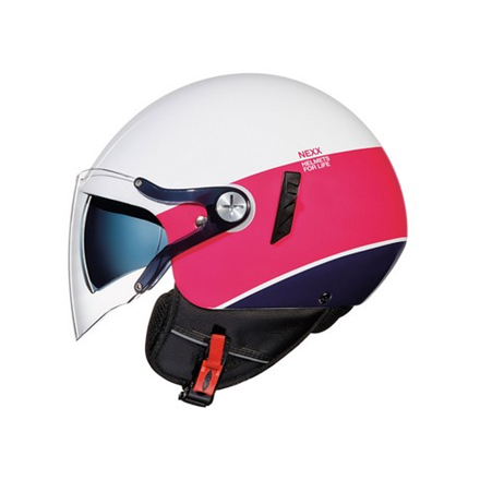 CASCO NEXX SX.60 VF SMART2 WHITE/PINK