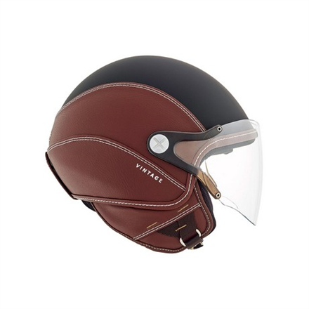 CASCO NEXX SX.60 VINTAGE 2 BLK/BROWN MT