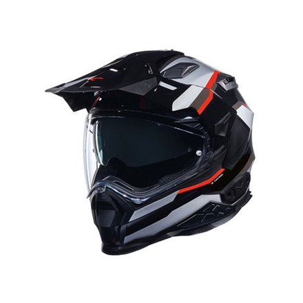 CASCO NEXX X.WED2 X-PATROL BLACK.SILVER.RED