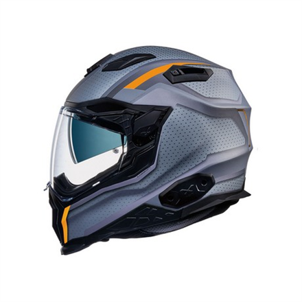 CASCO NEXX X.WST2 MOTROX TITANIUM.ORANGE MT