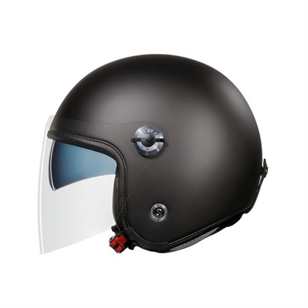 CASCO NEXX X70 PLAIN BLACK MT