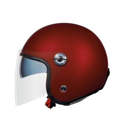 CASCO NEXX X70 PLAIN BURGUNDY