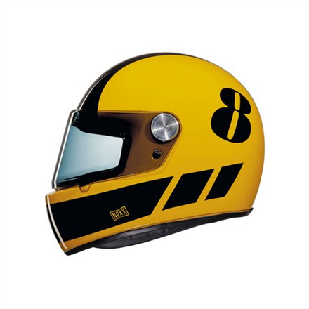 CASCO NEXX XG.100 R BILLY B YELLOW