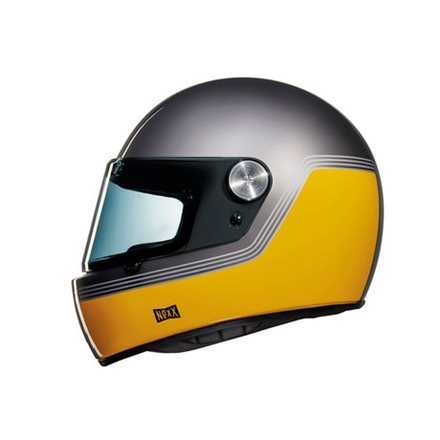 CASCO NEXX XG.100 R MOTORDROME YELLOW