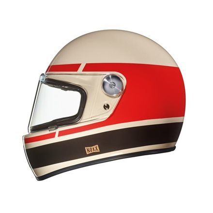 CASCO NEXX XG.100 R RECORD CREAM/RED