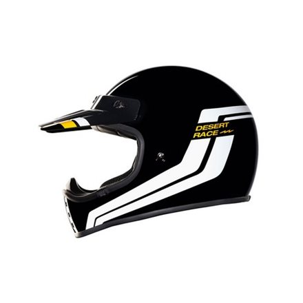 CASCO NEXX XG.200 DESERT RACE BLACK