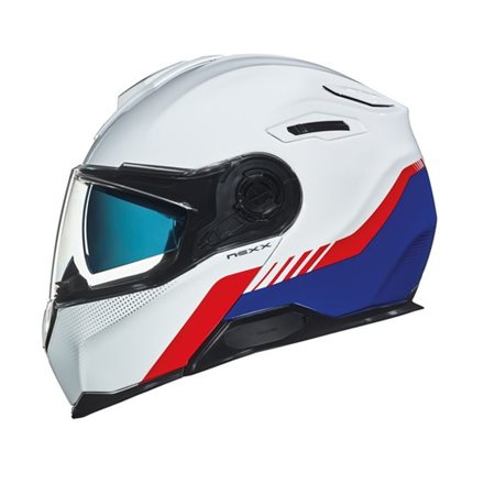 CASCO NEXX X.VILITUR LATITUDE WHITE/BLUE