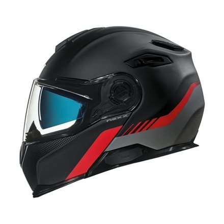 CASCO NEXX X.VILITUR LATITUDE BLACK/RED MT