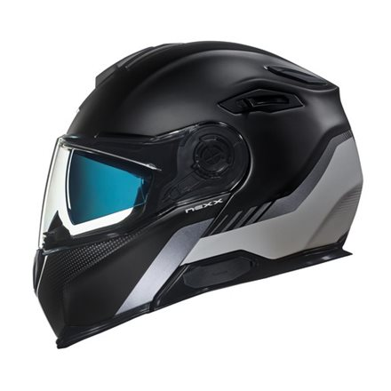 CASCO NEXX X.VILITUR LATITUDE BLACK/TITANIUM MT