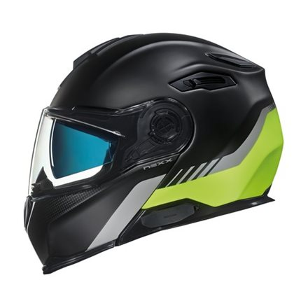 CASCO NEXX X.VILITUR LATITUDE BLACK/NEON YELLOW MT