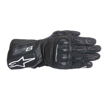 STELLA SP-8 V2 GUANTES NEGRO GRIS OSCURO