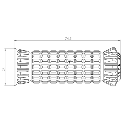 TRIUMPH TIGER EXPLORER XC 13' - 15'  R FIGHTER PUIG