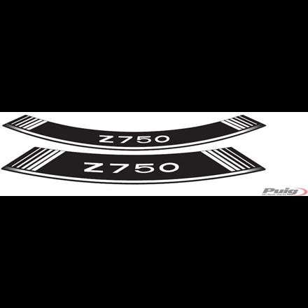 KAWASAKI Z750 PEGATINAS PARA LLANTAS PUIG