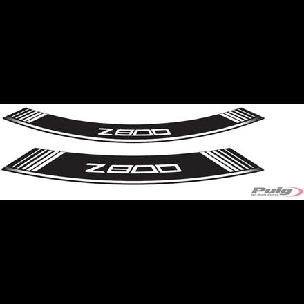KAWASAKI Z800 PEGATINAS PARA LLANTAS PUIG