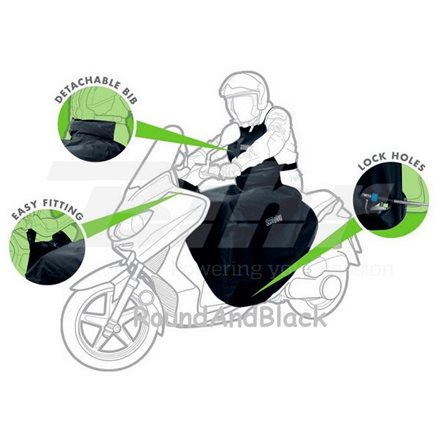 CUBREPIERNAS SCOOTER UNIVERSAL IMPERMEABLE OX399