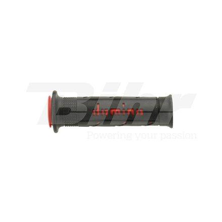 PUÑOS RACING SUPER SOFT 126MM NEGRO/ROJO A25041C4240
