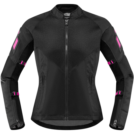 CHAQUETA ICON MUJER MESH AF CE NEGRO