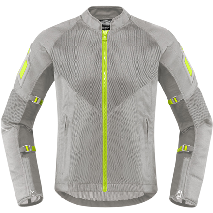 CHAQUETA ICON MUJER MESH AF CE GRIS
